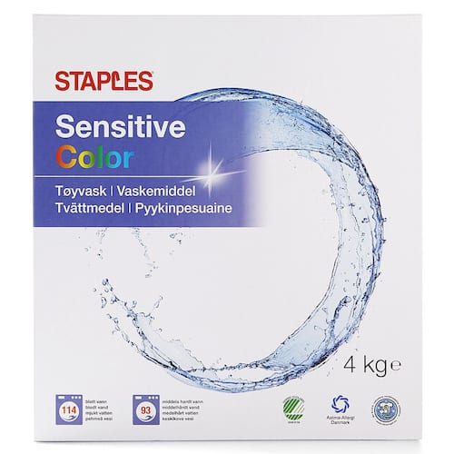 Tøyvask STAPLES Color 4kg produktbilde