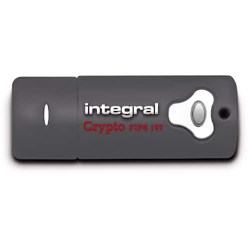 Minne INTEGRAL Crypto FIPS USB 3.0 32GB produktbilde Secondary4 L
