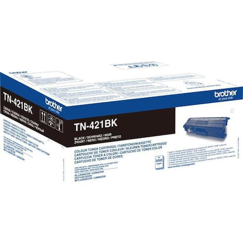 Toner BROTHER TN421BK sort 3K produktbilde