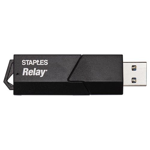 Kortleser STAPLES USB 3.0 MicroSDHC/XC produktbilde Secondary1 L