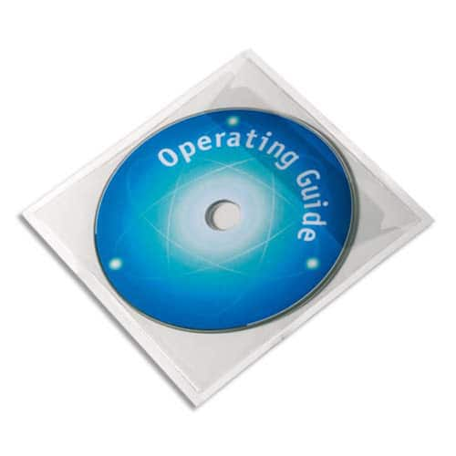 CD/DVD konvolutt DURABLE i plast (10) produktbilde