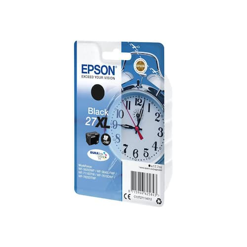 Blekk EPSON 27XL C13T27114022 sort produktbilde Secondary1 L