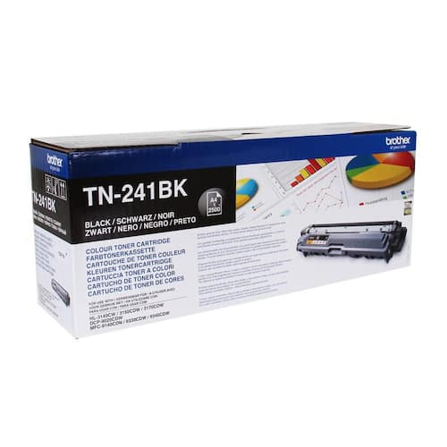 Toner BROTHER TN241BK 2.5K sort produktbilde Secondary2 L