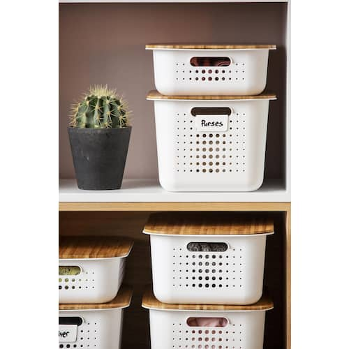 Lokk SMARTSTORE Basket recycled plywood produktbilde Secondary1 L