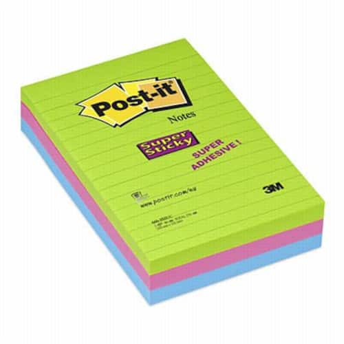 POST-IT SuperS 102x152mm linjer Rio (3) produktbilde