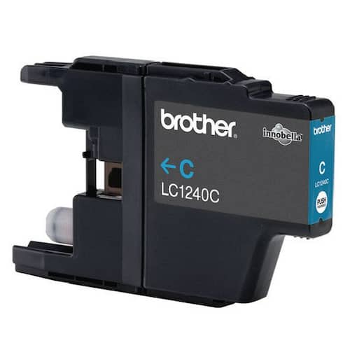Blekk BROTHER LC1240C blå produktbilde Secondary1 L