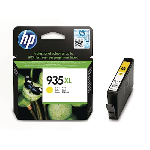 Blekk HP 935XL gul produktbilde Secondary1 L