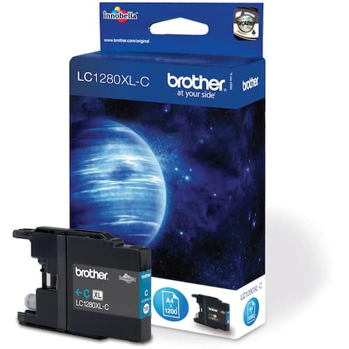 Blekk BROTHER LC1280XLC blå produktbilde Secondary1 L