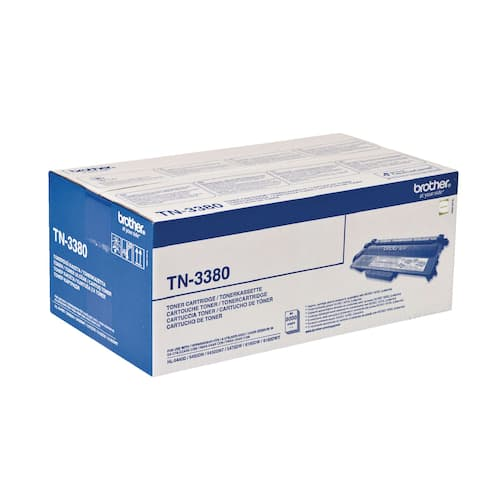 Toner BROTHER TN3380 8K sort produktbilde
