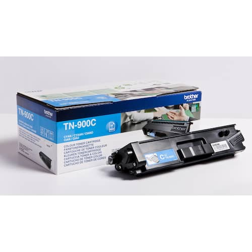 Toner BROTHER TN900C cyant 6K produktbilde