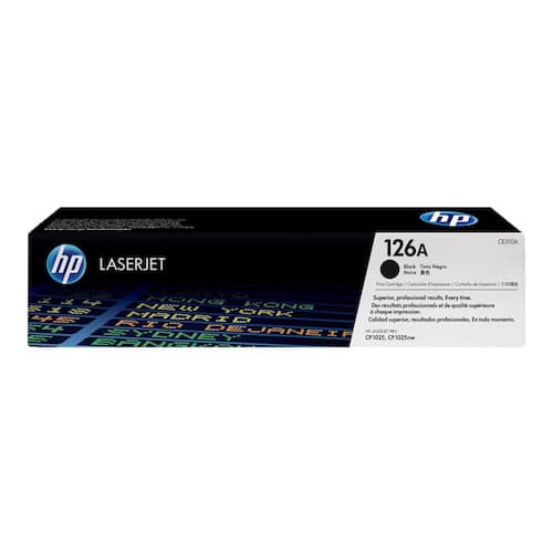 Toner HP CE310A 1.2K sort produktbilde Secondary1 L
