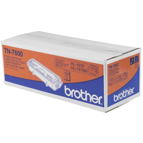 Toner BROTHER TN7600 6.5K sort produktbilde