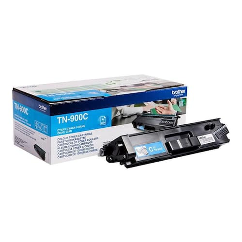 Toner BROTHER TN900C cyant 6K produktbilde Secondary1 L