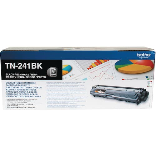 Toner BROTHER TN241BK 2.5K sort produktbilde Secondary1 L