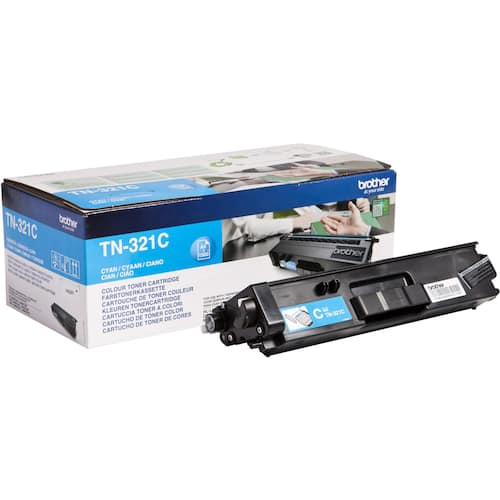 Toner BROTHER TN321C blå produktbilde Secondary1 L