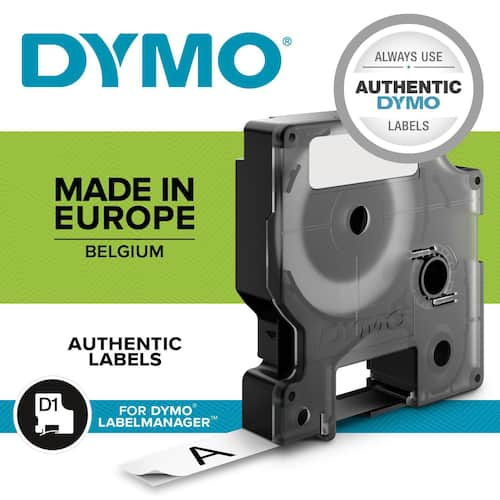 Tape DYMO D1 24mm x 7m sort/hvit produktbilde Secondary1 L
