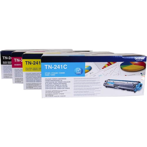 Toner BROTHER TN245C 2.2K blå produktbilde Secondary1 L