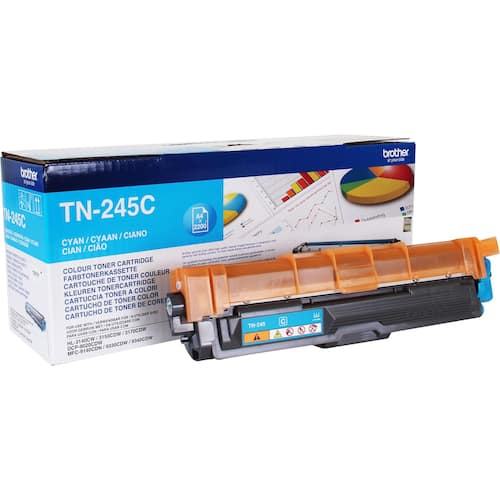 Toner BROTHER TN245C 2.2K blå produktbilde