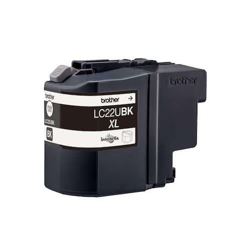 Blekk BROTHER LC22UBK sort produktbilde Secondary2 L