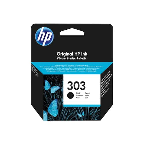 Blekk HP 303 Black produktbilde Secondary1 L