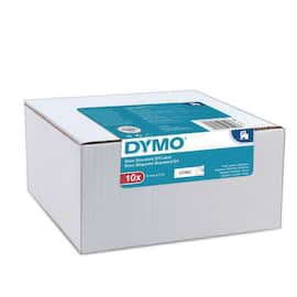 Tape DYMO D1 9mm x 7m sort/hvit (10) produktbilde