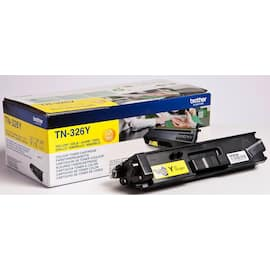 Toner BROTHER TN326Y high capacity gul produktbilde