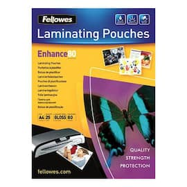Lomme FELLOWES A4 glossy 80my (25) produktbilde