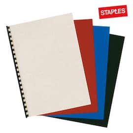 Omslag ringinnb STAPLES A4 sort (100) produktbilde