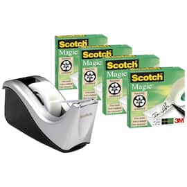 Dispenserpakke SCOTCH C60 Magic 810 4rl produktbilde