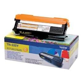 Toner BROTHER TN320Y 1.5K gul produktbilde