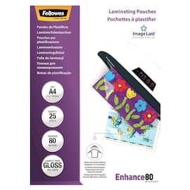 Lomme FELLOWES A3 glossy 80my (25) produktbilde
