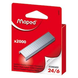 Heftestift MAPED 24/6 blister (2000) produktbilde