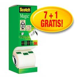 Tape SCOTCH Magic 810 7+1rl gratis (8) produktbilde
