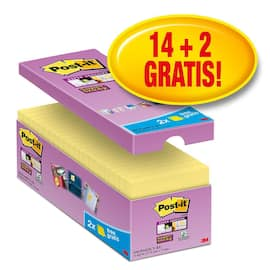 POST-IT SuperS 76x76mm økonomi gul (16) produktbilde