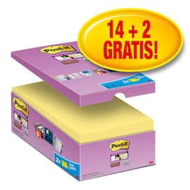 POST-IT SuperS 76x127mm økonomi gul(16) produktbilde