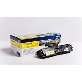 Toner BROTHER TN900Y gul 6K produktbilde