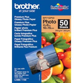 Fotopapir BROTHER BP71 gloss 10x15 (50) produktbilde