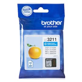 Blekk BROTHER LC3211 cyan produktbilde