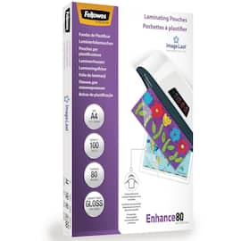 Lomme FELLOWES A4 glossy 80my (100) produktbilde