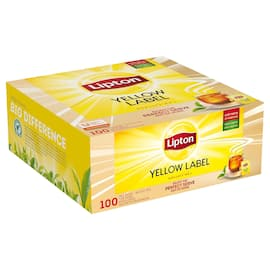 Te LIPTON yellow label (100) produktbilde
