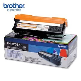Toner BROTHER TN320BK  2.5K sort produktbilde