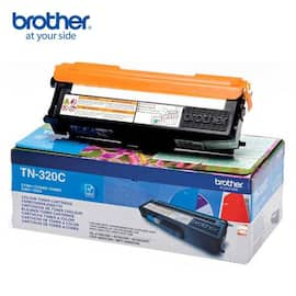 Toner BROTHER TN320C 1.5K blå produktbilde