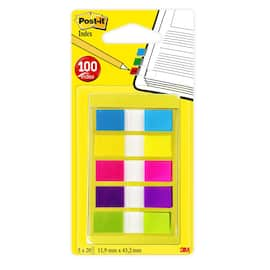 POST-IT Index 683-5 i dispenser 5 fargr produktbilde
