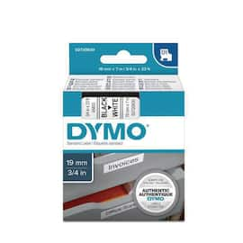 Tape DYMO D1 19mm x 7m sort/hvit produktbilde