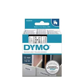 Tape DYMO D1 12mm x 7m sort/hvit produktbilde