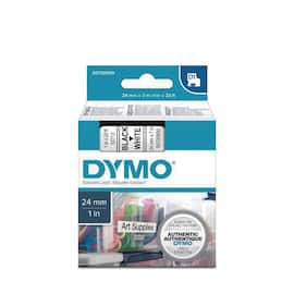 Tape DYMO D1 24mm x 7m sort/hvit produktbilde