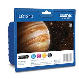 Blekk BROTHER LC1240CMYK (4) produktbilde