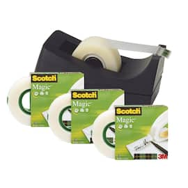 Tape SCOTCH Magic 810 19x33 4pk m/disp produktbilde