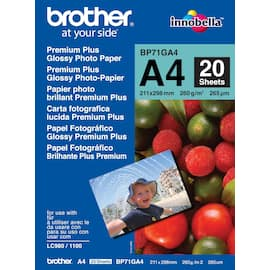Fotopapir BROTHER BP71 gloss A4 260g(20) produktbilde