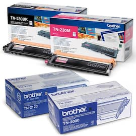 Toner BROTHER TN325M 3.5K rød produktbilde